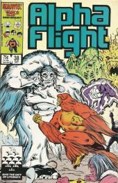 Alpha Flight (Marvel comics - 1983) -38- Pestilence!