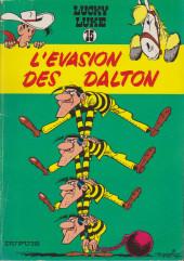 Lucky Luke -15b1983- L'évasion des Dalton