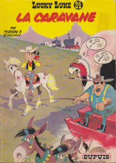 Lucky Luke -24a1966'- La caravane