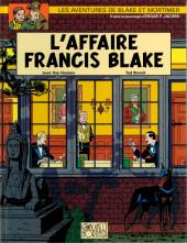 Blake et Mortimer (Les Aventures de) -13b2008- L'affaire Francis Blake