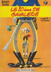 Lucky Luke -27a1969- Le 20ème de cavalerie