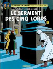 Blake et Mortimer (Les Aventures de) -21a2018- Le Serment des cinq lords