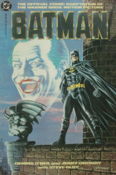 Batman: The Official Comic Adaptation Of The Warner Bros Motion Picture -OS- Batman movie 1989