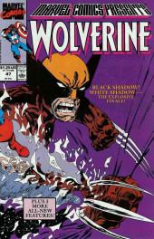 Marvel Comics Presents Vol.1 (Marvel Comics - 1988) -47- Black Shadow! White Shadow -- The Explosive Finale!