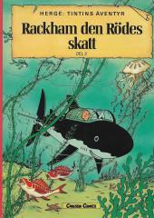 Tintin (en langues étrangères) -12Suédois- Rackham den Rödes skatt