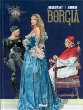 Borgia (Jodorowsky/Manara) -1b2019- Du sang pour le pape