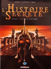 L'histoire secrète -4a2010- les clés de saint pierre