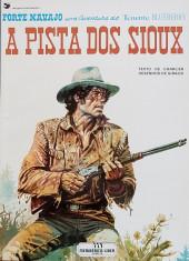 Blueberry (en portugais) (Uma aventura do Tenente) -9- A Pista dos Sioux