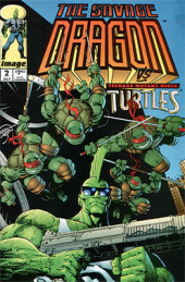 Savage Dragon Vol.2 (The) (Image comics - 1993) -2- The Savage Dragon vs Teenage Mutant Ninja Turtles