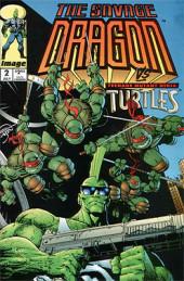 Savage Dragon Vol.2 (The) (Image comics - 1993) -2- The Savage Dragon vs Teenage Mutant Ninja Turtles