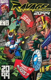 Ravage 2099 (Marvel comics - 1992) -4- How Can One Man Hope to Win Against the Mighty Mutroids?