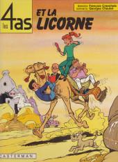 Les 4 as -18a1984- Les 4 as et la licorne