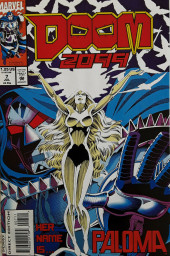 Couverture de Doom 2099 (Marvel comics - 1993) -7- Her Name Is... Paloma
