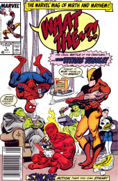 What the..?! (Marvel comics - 1988) -1- ...When Titans Tussle!