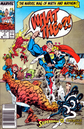 What the..?! (Marvel comics - 1988) -2- Superbman vs. the Fantastical Four