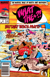 What the..?! (Marvel comics - 1988) -4- Mutant Beach Party Part Two!