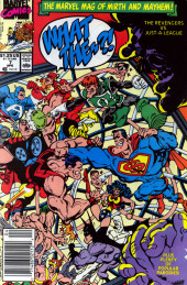What the..?! (Marvel comics - 1988) -7- The Revengers vs. Just-A-League