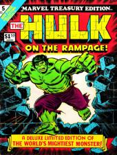 Marvel Treasury Edition (Marvel Comics - 1974) -5- Issue # 5