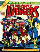 Marvel Treasury Edition (Marvel Comics - 1974) -7- Issue # 7