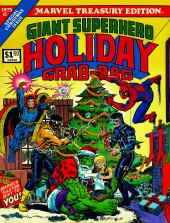 Marvel Treasury Edition (Marvel Comics - 1974) -8- Giant Superhero Holiday Grab Bag