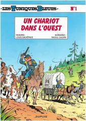 Les tuniques Bleues -1e2012- Un chariot dans l'Ouest