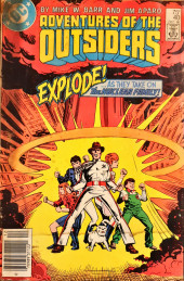 Adventures of the Outsiders (DC comics - 1986) -40- Nuclear Fear Part II - Family Ties
