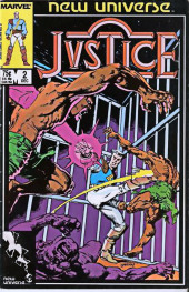 Justice (Marvel Comics - 1986) -2- Land of other Shadows