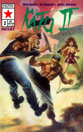 Kato of the Green Hornet II (NOW Comics - 1992) -2- Issue # 2