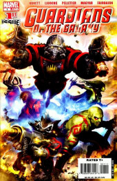 Guardians of the Galaxy (2008) -1- Issue #1