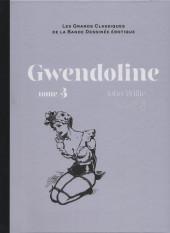 Les grands Classiques de la Bande Dessinée érotique - La Collection -10595- Gwendoline - Tome 3