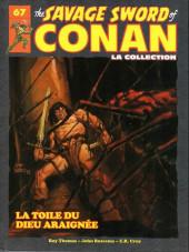 Savage Sword of Conan (The) (puis The Legend of Conan) - La Collection (Hachette) -67- La toile du dieu araignée