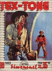 Tex-Tone -106- Le shérif masqué