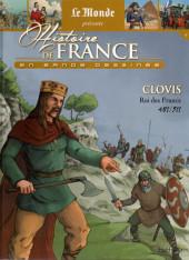 Histoire de France en bande dessinée -4- Clovis roi des Francs 481/511