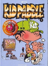 Couverture de Kid Paddle -1- Jeux de vilains