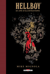 Hellboy (Intégrale Deluxe) -HS2- 25 ans d'Illustrations