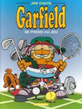 Garfield -24b2007- Garfield se prend au jeu
