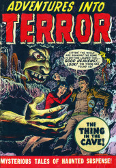 Adventures into Terror Vol.1 (Atlas - 1950) -143- The Thing in the Cave!