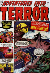 Adventures into Terror Vol.2 (Atlas - 1951) -5- Hitch-Hiker!