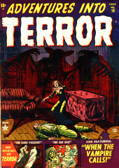 Adventures into Terror Vol.2 (Atlas - 1951) -10- When the Vampire Calls!