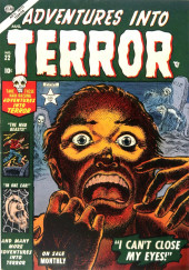 Adventures into Terror Vol.2 (Atlas - 1951) -22- I Can't Close My Eyes!