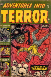 Adventures into Terror Vol.2 (Atlas - 1951) -15- Trapped by  the Tarantula!