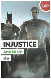 Le meilleur de DC Comics -10- injustice : année un