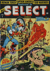 All Select Comics (Timely Comics - 1943) -1- Issue # 1