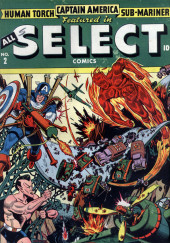 All Select Comics (Timely Comics - 1943) -2- Issue # 2