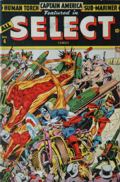 All Select Comics (Timely Comics - 1943) -4- Issue # 4