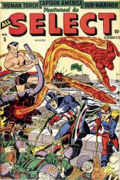 All Select Comics (Timely Comics - 1943)