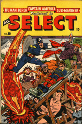 All Select Comics (Timely Comics - 1943) -10- Issue # 10
