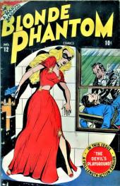 Blonde Phantom Comics (Timely Comics - 1946) -12- Issue # 12