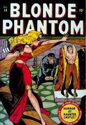 Blonde Phantom Comics (Timely Comics - 1946) -14- Horror at Haunted Castle!