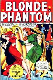 Blonde Phantom Comics (Timely Comics - 1946) -16- Modeled for Murder!